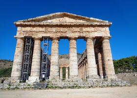 В Античную Седжесту (Западная Сицилия)