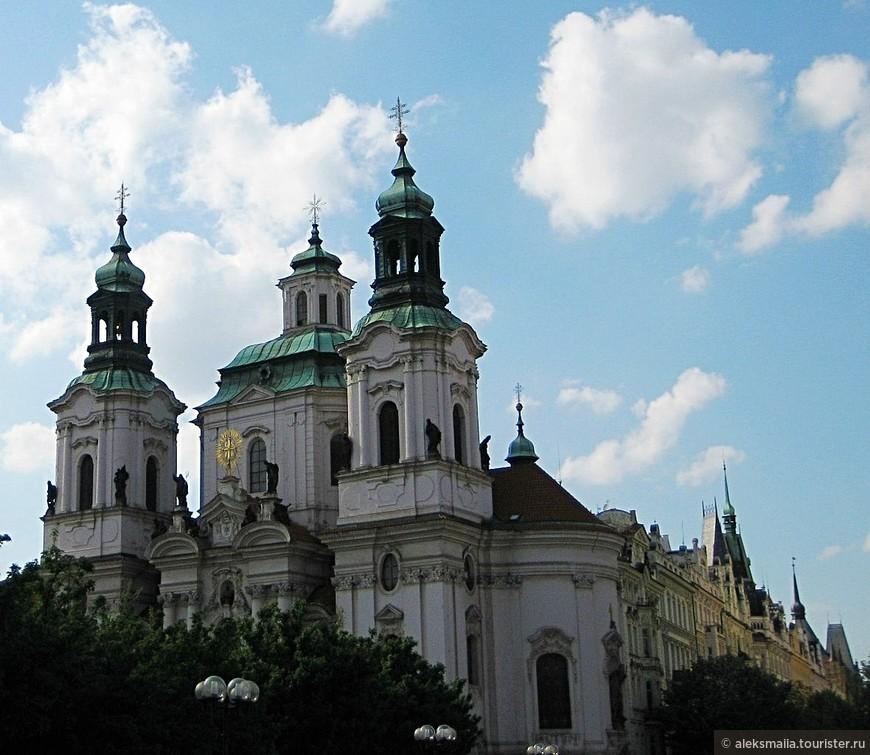 Церковь св.Николая - монументальное религиозное сооружение, главный храм Чехословацкой гуситской церкви, который в 1874-1914 годах являлся православным.