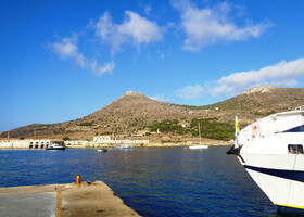 Остров Фавиньяна к западу от Сицилии