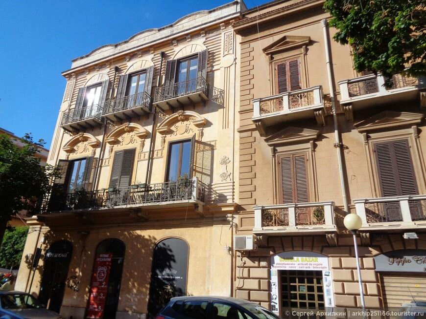 Марсала- довольно значительный город для Сицилии - население 90 тысяч жителей