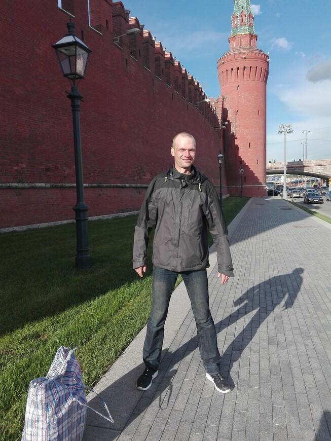 Кремлёвская набережная: Московский кремль и Беклемишевская (Москворецкая) башня