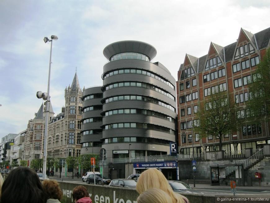 Антверпен, дорога к замку Стеен