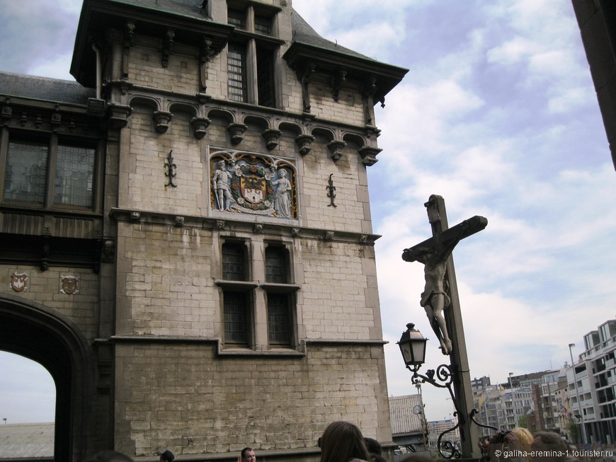 Антверпен, замок Стеен