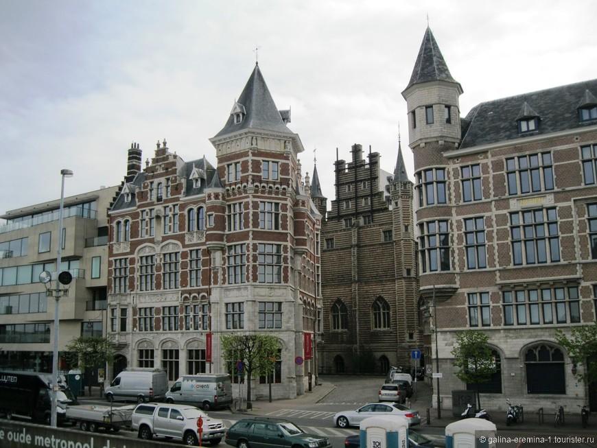 Антверпен, улицы