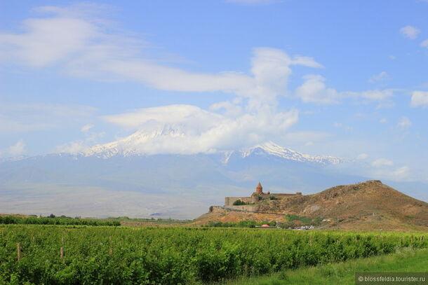 Погода в Армении в июне