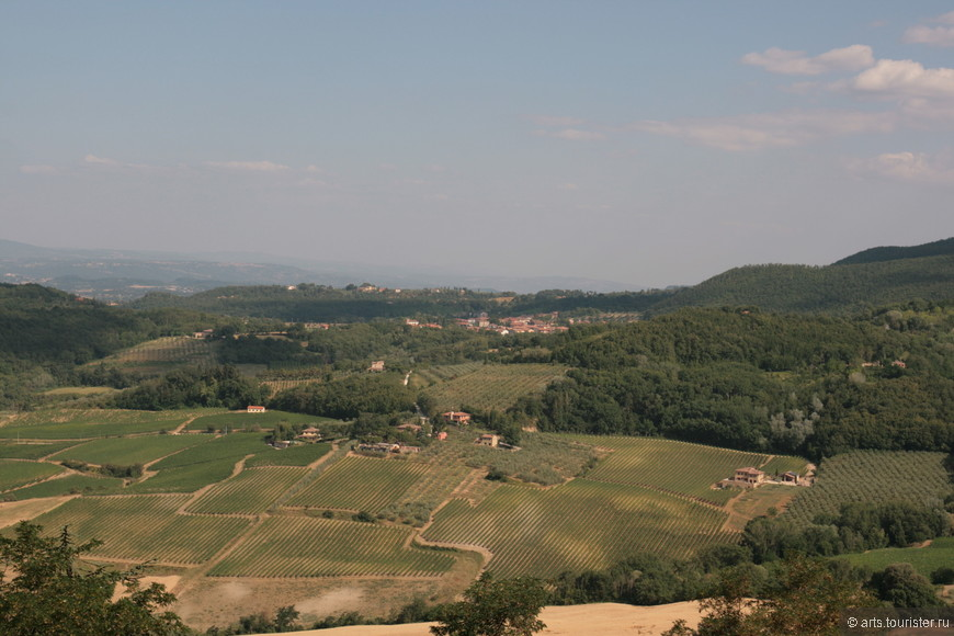 Поля Тосканы