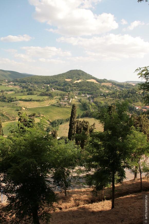 Тоскана. Отельные виды