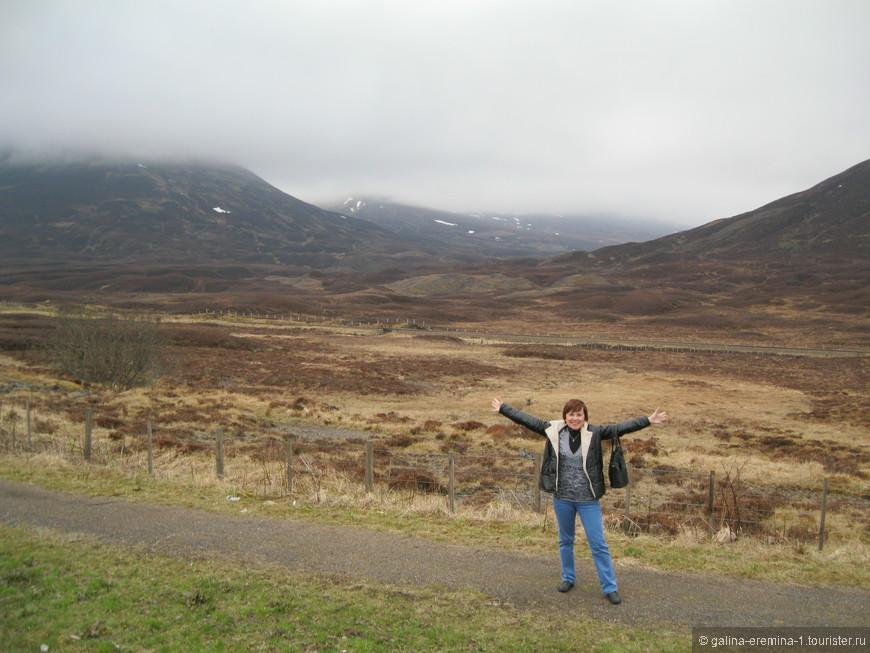 Шотландия, вересковые пустоши