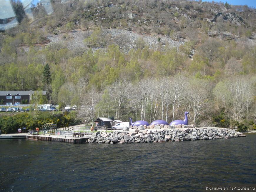 на берегу озера Лох-Несс