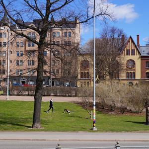 Хельсинки: весенний град и немного модерна.
