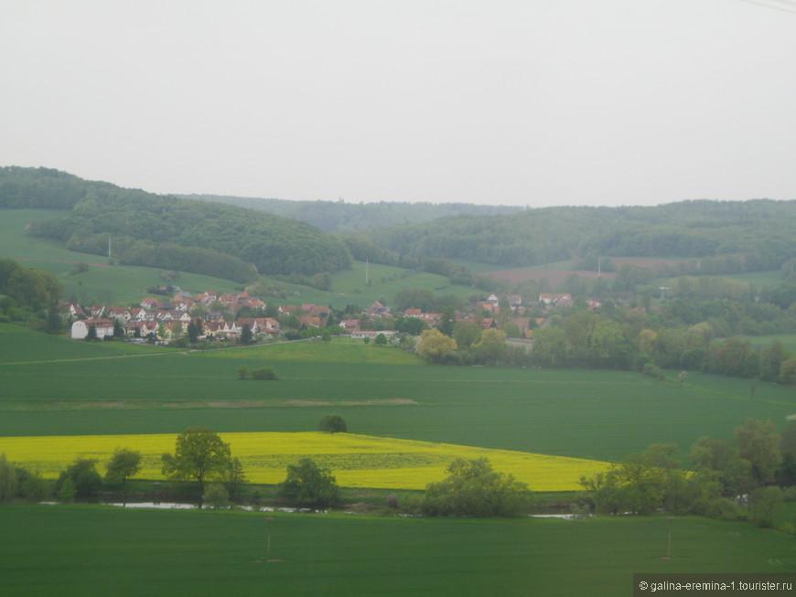 сельские пейзажи Германии