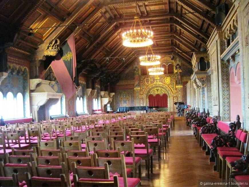 большой музыкальный зал