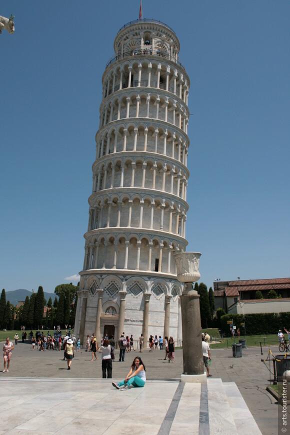 Символ города - Пизанская башня