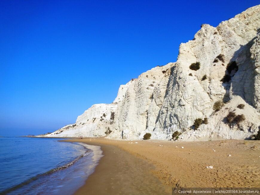 Вот такой он южный берег Сицилии