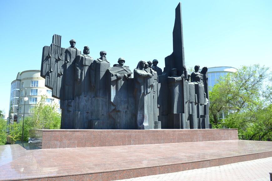 Мемориальный комплекс Площадь Победы.