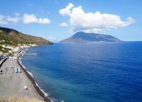 Пляжи острова Липари