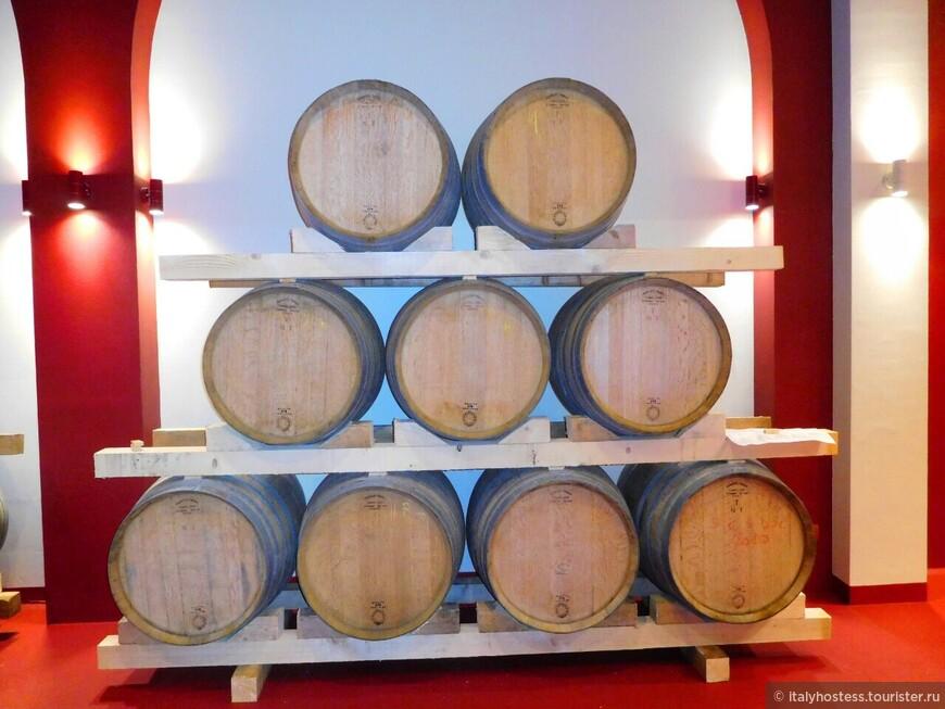 О вкусовых качествах вина , выдержанного в этих бочках, мы будем помнить....