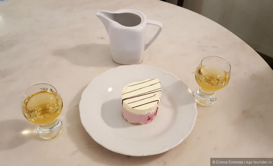Я попросила наименее сладкое пирожное, и мне дали именно то, что я хотела!