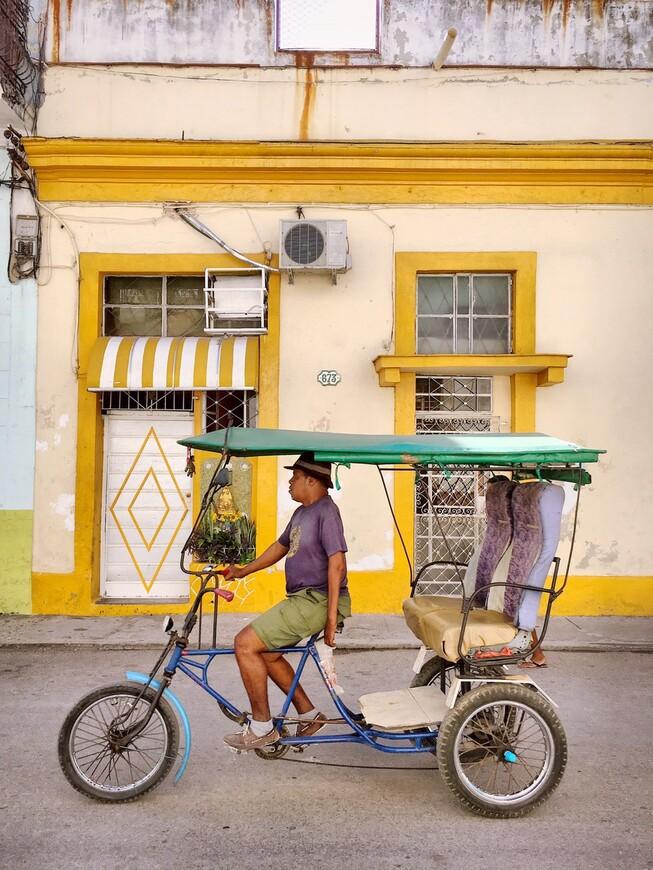 Один из моих самых любимых типов передвижения по Гаване)
