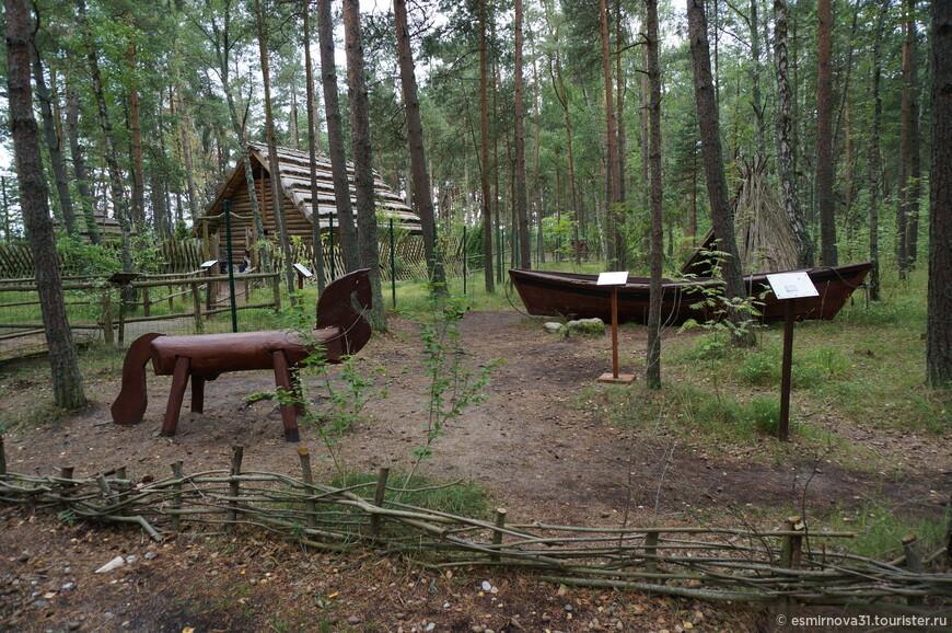 Реконструкция деревни Викингов