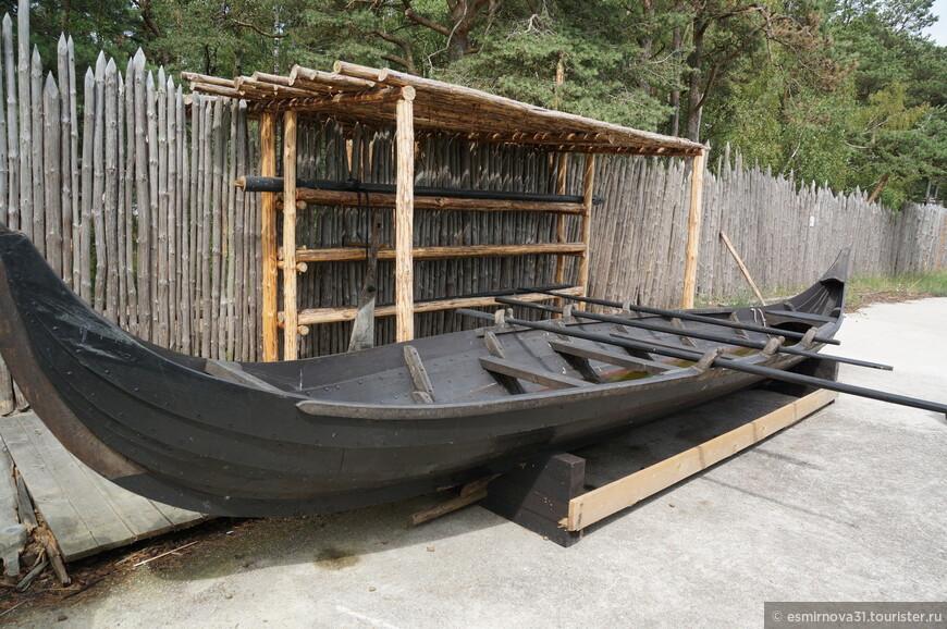 Лодка Викингов. Реконструкция