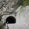 Тоннель в Черекской теснине
