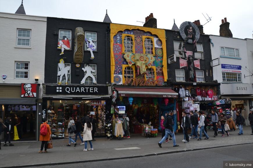 Блошиный рынок Сamden www.camdenmarket.com