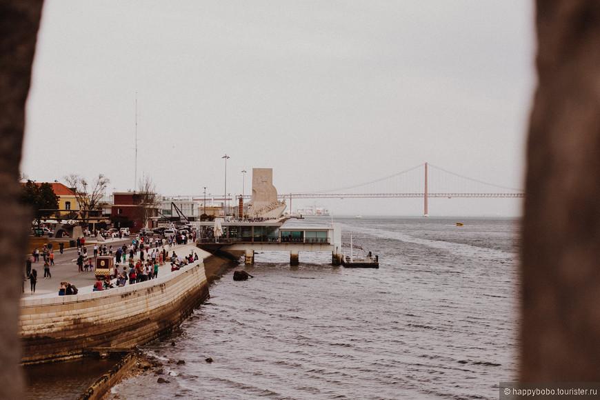 Район Белем. Вид на мост имени 25 апреля