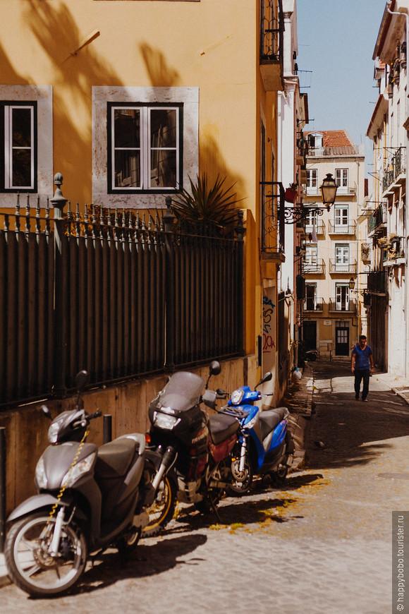 бесконечные улочки города