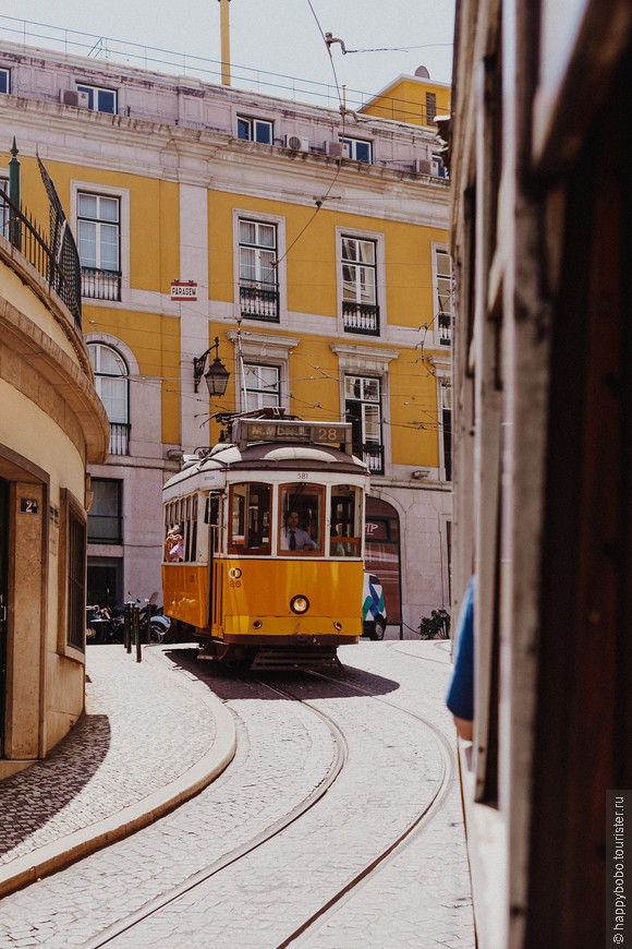 Прогулка на 28-ом трамвае по городу
