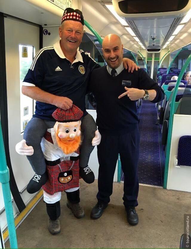 Edinburgh - Glasgow train