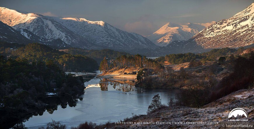 Loch Affric at sunrise, Glen Affric.jpg