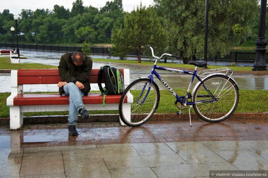 Велотурист.