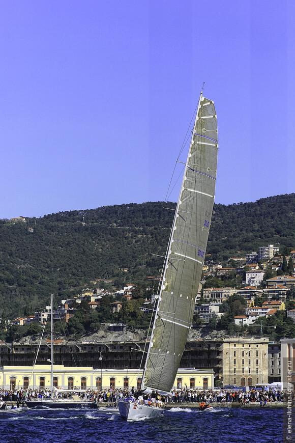 В начале октября , в Триесте  любой любитель паруса на своей небольшой посудине может встать на одну стартовую линию вместе с огромными яхтами, управляемыми профессионалами мирового уровня. Эта регата называется Барколана.