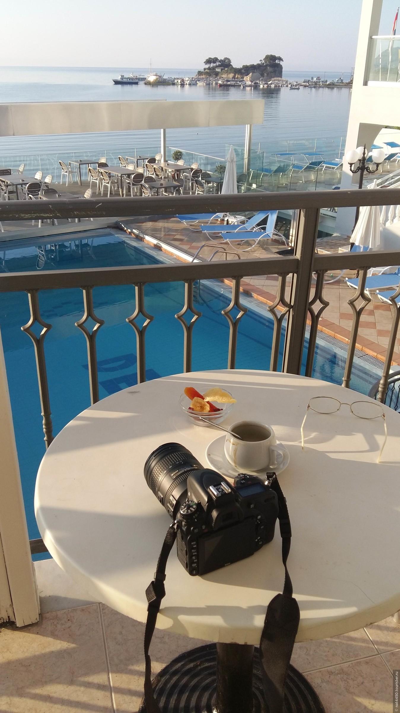 Островом я любовалась каждое утро, когда на своем балконе встречала солнышко., Остров свадеб