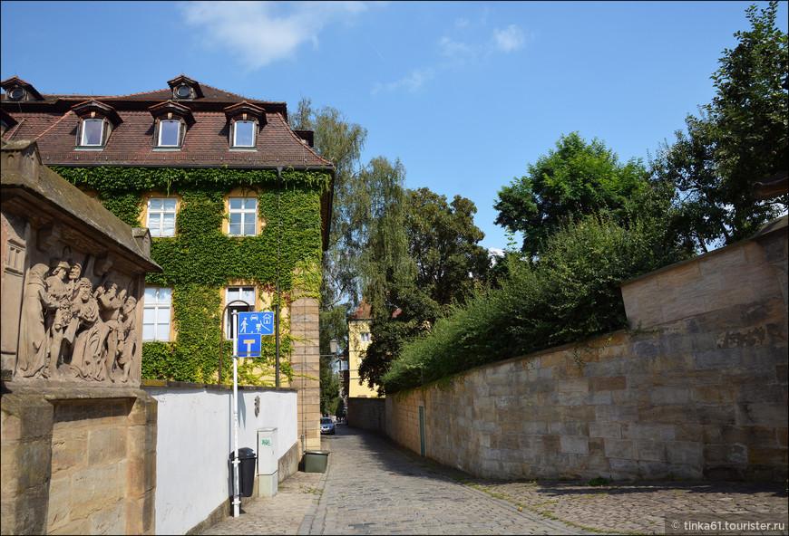 Из Резиденции я направилась на холм Михельсберг  в сторону монастыря Святого Михаила.