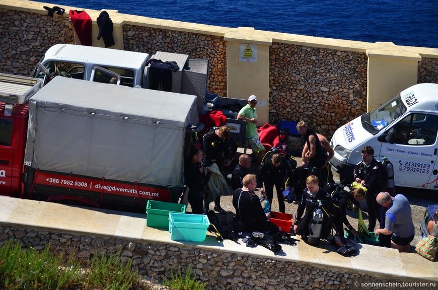 Подводное плавание (дайвинг) очень популярно на Мальте. Мальтийский архипелаг, состоящий из островов Мальта, Гозо и Комино, привлекает дайверов прежде всего своим уникальным топографическим строением, чистотой прибрежного моря и богатой подводной флорой и фауной.