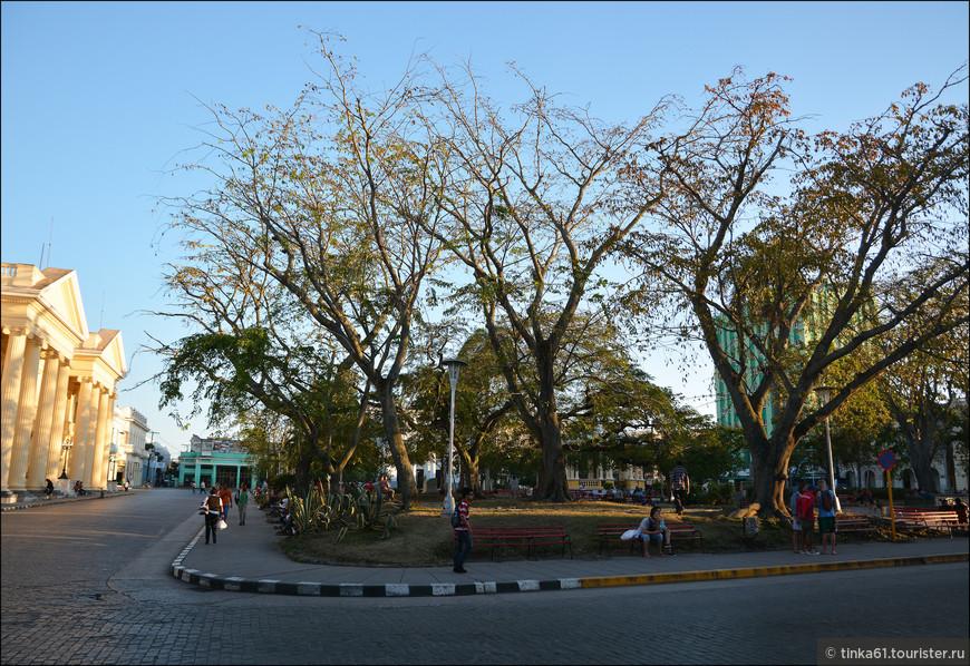 Парк Видаль - самый центр города.