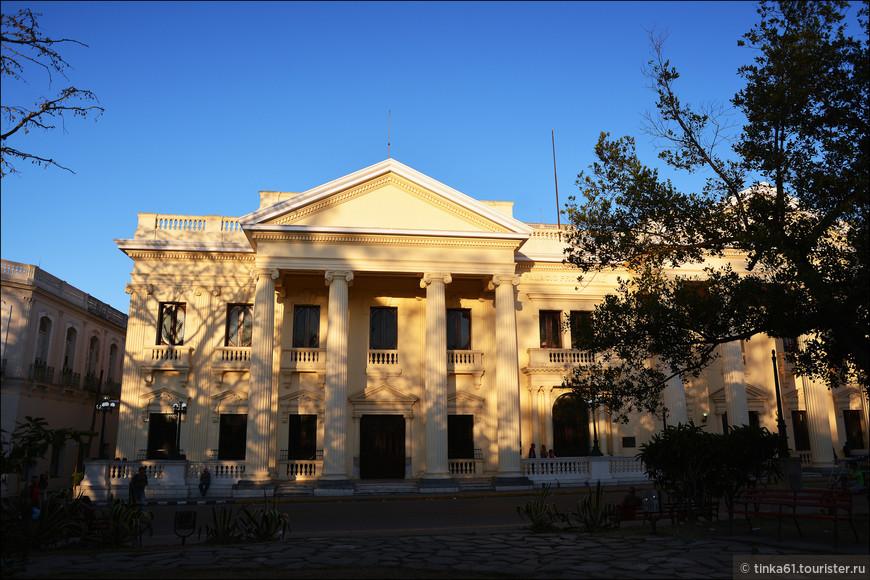 Библиотека имени Хосе Марти.