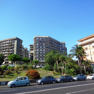 Набережная и пляжи Катании.(Сицилия)