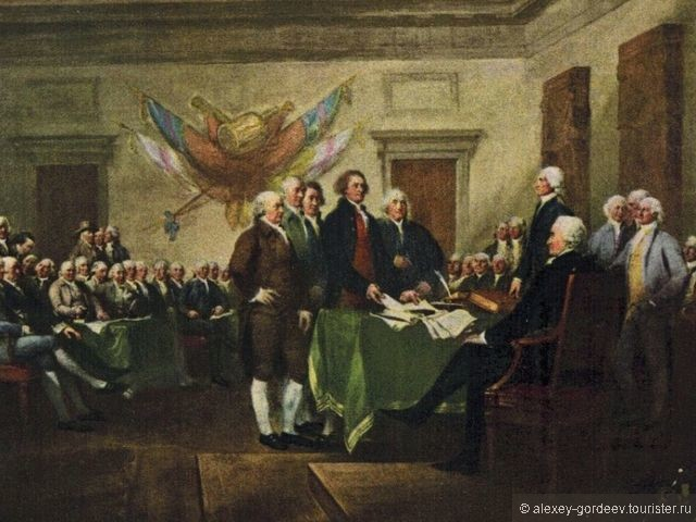 history declaration independence This idealized depiction shows the principal authors of the declaration of independence, john adams, thomas jefferson and benjamin.