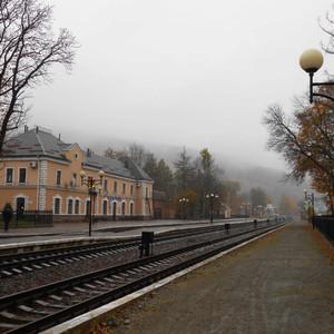 Осень в Карпатах - Яремча