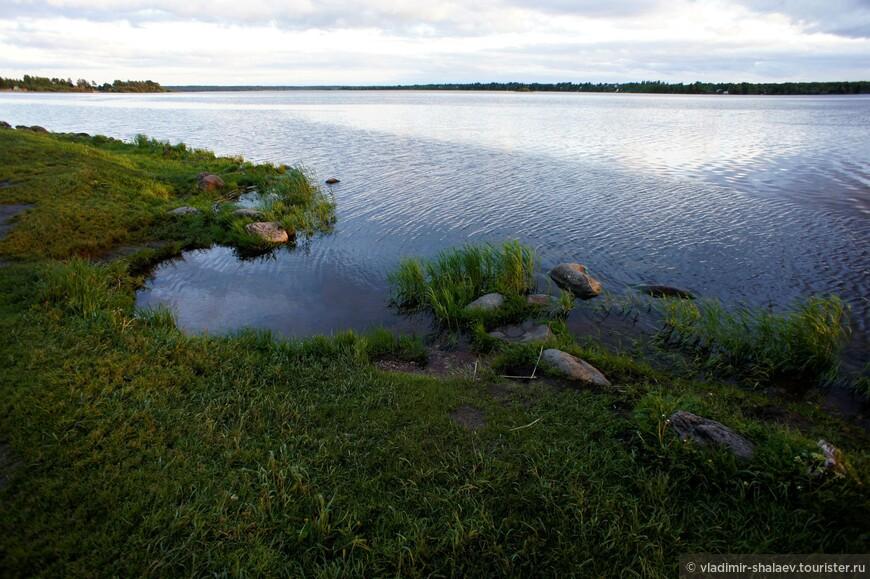 Сиверское озеро.