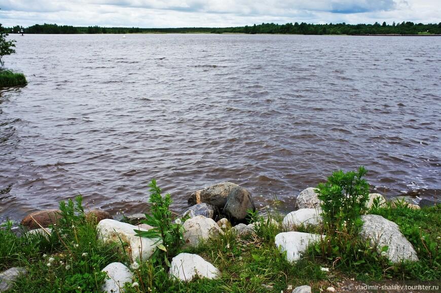 Река Шексна.