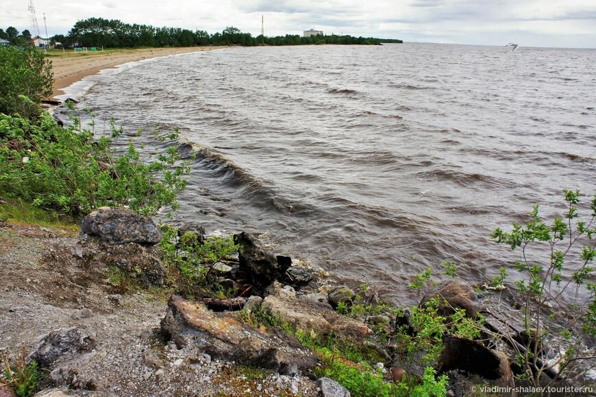Озеро Белое в районе города Белозерска.