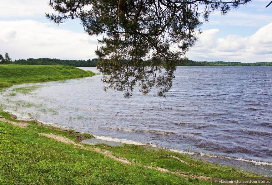 Озеро Ферапонтовское.