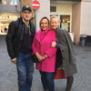 В Цюрихе на экскурсии Жанна Эппле и Вячеслав Разбегаев