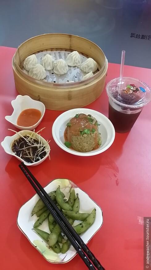 Xiao LOng Bao!Очень вкусные dim sum. вкус гороха тоже особенно. как закуска - великолепно.
