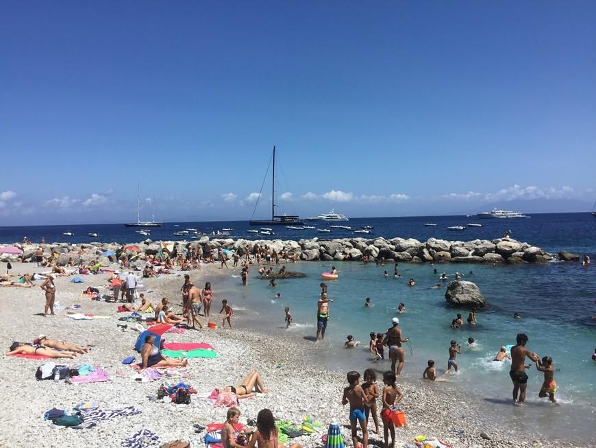 Пляж в Марина Grande
