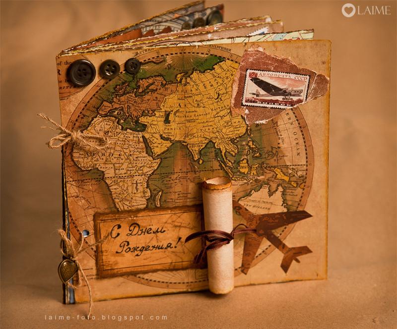 Открытка с днем рождения мужчине путешественнику